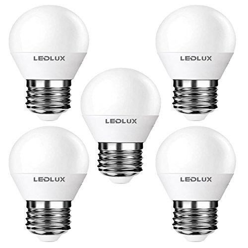 5er E27, LED E27, LED lampe E27, E27 6W Warmweiss, 470 Lumen 8 SMD 2835 LED Ra 80, 230V CCD Ersetz 45W, LumenTEC (5er PAK Warmweiss)