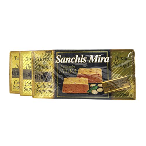 Sanchis Mira Turron de Jijona. 7 oz. Just arrived from Spain. Pack of 3