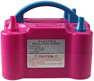 Electric Balloon Blower Air Pump Inflator Portable Dual Nozzle Party Machine