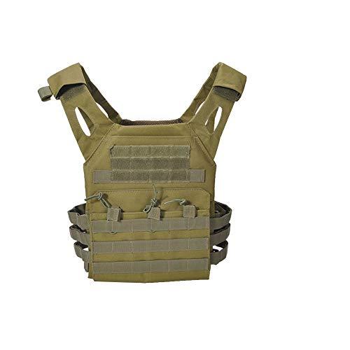mi ji OutdoorTactical Pecho del Chaleco de Camuflaje Airsoft Protector de Pecho Body Armor Camo Combat Asalto Chaleco Tamaño del Verde Libre del ejército