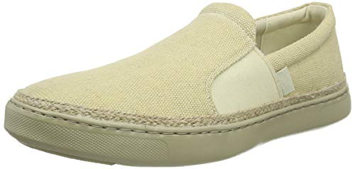 FitFlop Collins Espadrille Loafers, Homme, Beige (Ss19 Light Sand 672), 47 EU