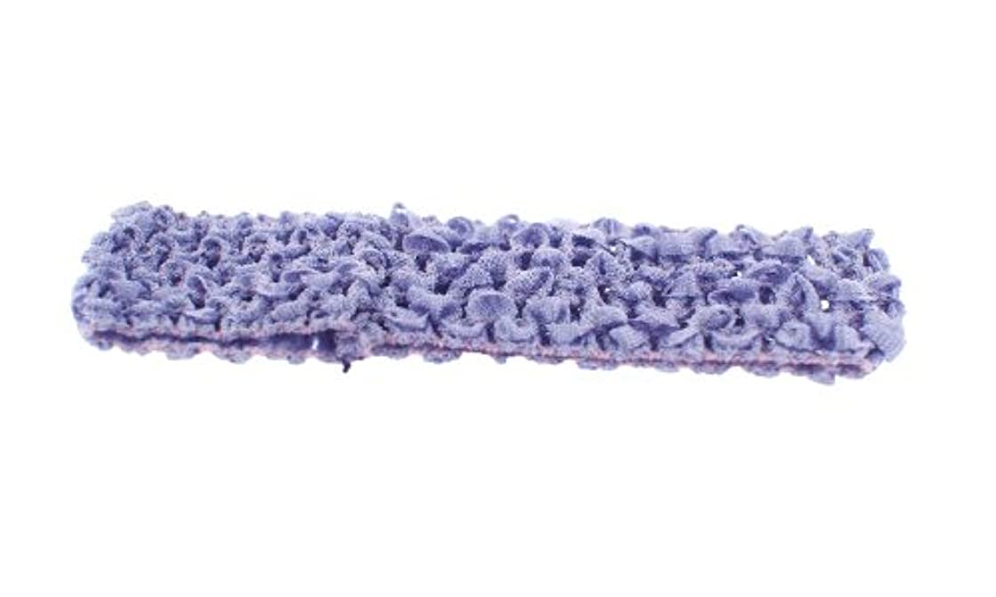 Trimweaver 10-Piece Woven Crochet Fabric Headbands, 1.5-Inch, Lilac