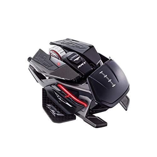 Mad Catz The Authentic R.A.T. Pro X3 Gaming-Maus, Schwarz