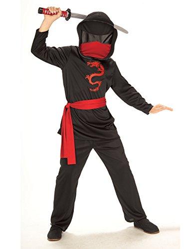 Rubie's-IT881121-L kostuum Ninja MASCHERATO, meerkleurig, IT881121-L