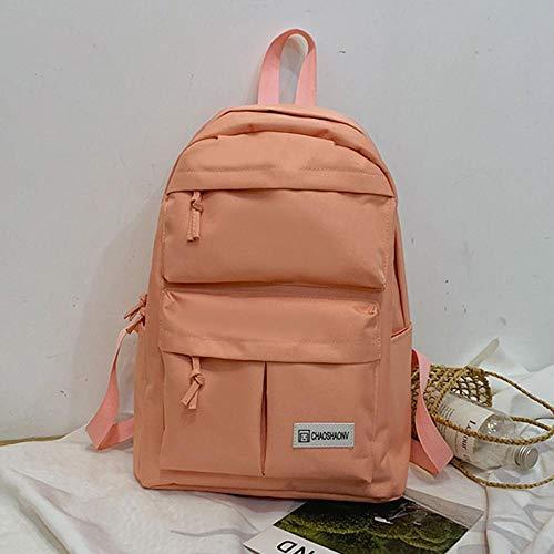Backpack Bag Couple Schoolbag Travel Backpack School Hiking Bag Solid Backpack Women Collection Luminous Bag C