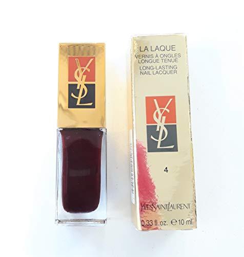 Yves Saint Laurent Esmalte de uñas La Laque Larga duración 4 Red Night 10 ml