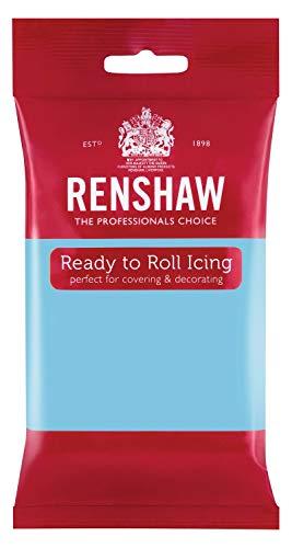 Fondant fertig zum Ausrollen von Renshaw, 250g babyblau