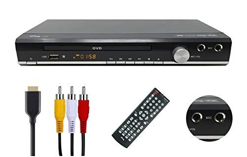hPlay D20K Upconvert to 1080P DVD, CD Multimedia Player, Region Free,...