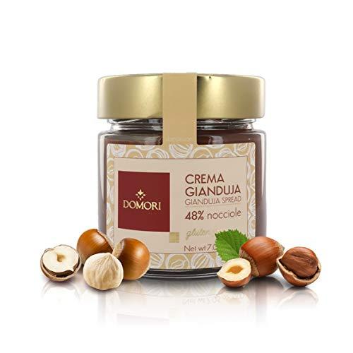 Domori Crema di Gianduia Classica con 48% Nocciole IGP, 200 Grammi