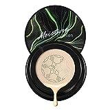 Kentan Air Cushion BB Cream Corrector Maquillaje Nude Duradero Pigmento Iluminador Hidratante para Todo el Maquillaje de la Piel