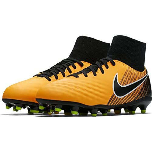 Nike Jr Magista Onda II DF Fg, Scarpe da Calcio Unisex-Bambini, Arancione (Laser Orange/Black/White/Volt), 32 EU