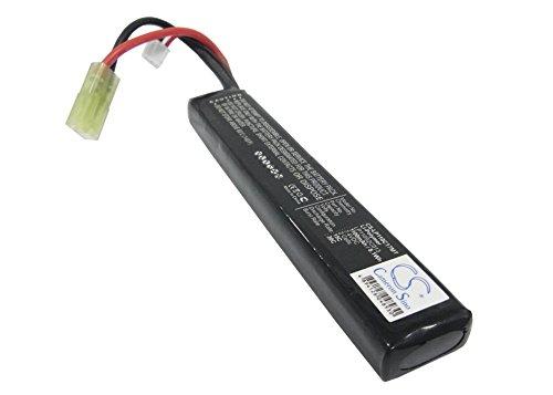 Batería Compatible con Airsoft Guns Mini Tamiya Li-Polymer 7.4V 1100mAh