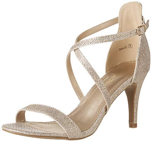 05 Gold Women Sandal - 6