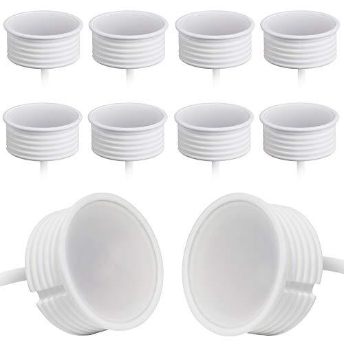 10x LED Spot Modul 230V 5 Watt Ø50mm Keramik Dimmbar für Einbaustrahler Einbauleuchten 22mm flach Ersatz für GU10 MR16 Leuchtmittel   Tagesweiße 4000K