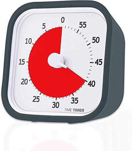 Time Timer MOD (9x9 cm) mit anthrazitfarbenem Gehäuse