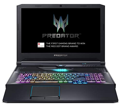 Acer Predator Helios 700 PH717-51 17.3-inch Gaming Laptop - (Intel Core i7-9750H, 16GB RAM, 512GB SSD and 1TB HDD, Nvidia GeForce RTX 2070, Full HD 144Hz Display, Windows 10, Black)