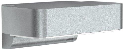 Steinel Außenlampe L 800 LED iHF silber, 10 W, 440 lm, LED Wandlampe mit 160° Bewegungsmelder, max. 5 m Reichweite