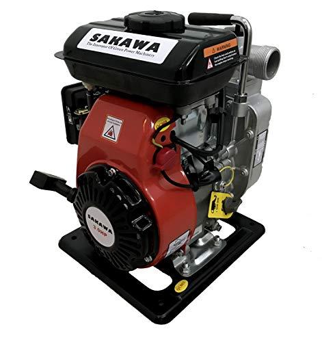 "SAKAWA MOTOBOMBA DE Gasolina 3cv 40 mm 1,5"""