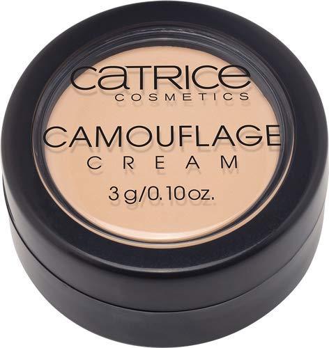 Catrice Camouflage Cream, Concealer, Abdeckstift, Nr. 010 Ivory, nude, für Mischhaut, für unreine Haut, langanhaltend, mattierend, ohne Parfüm, ohne Alkohol, ohne Parabene, 3er Pack (3 x 3g)