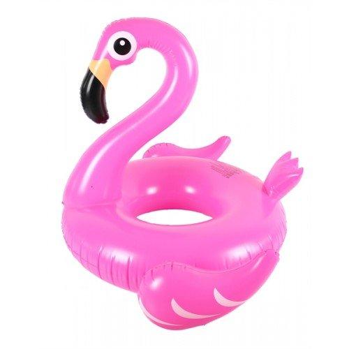 Flotador inflable en forma de flamenco tamaño gigante para la piscina o playa. flamenco flotador hinchable para la piscina o la playa por Integrity co (120)