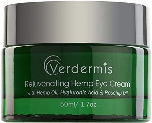 Verdermis Rejuvenating Hemp Eye Cream with Hemp Oil Hyaluronic Acid Rosehip Oil and Vitamins product image