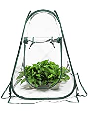 ValueHall Mini Greenhouse Portable Backyard Flower Shelter Pop-up Grow House Backyard Greenhouse Cover Outdoor Garden Plant Tent V7094