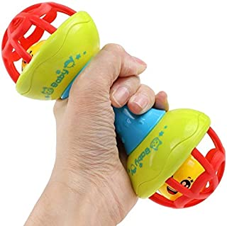 CHOUREN Dumbbell-shaped Soft Rubber To Make Baby Play Rattles
