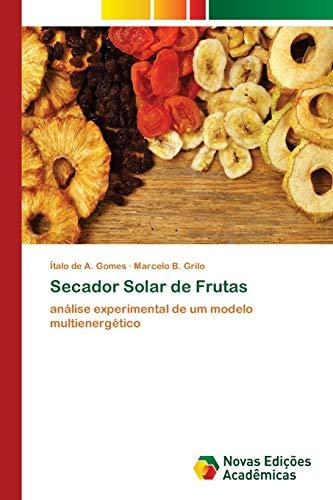 Secadora Fruta  marca Novas Edicoes Academicas