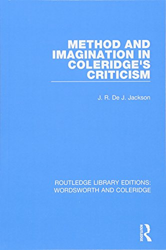 Method and Imagination in Coleridge's Criticism (RLE: Wordsworth and Coleridge)