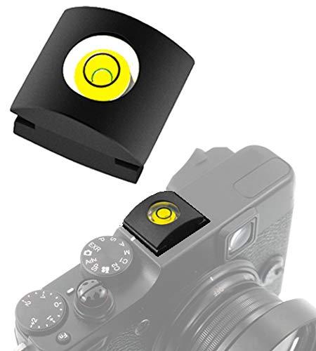 LIVELLA slitta flash coperchio hot shoe mount cover LEVEL BUBBLE compatibile con PANASONIC LUMIX G100 DC S1H S5 S1 S1R G95 G90 GX9 GH5S G9 GH5 G80 GX7 GX85 GX80 GX8 G7 GH4 LX100 FZ1000 MARK I II