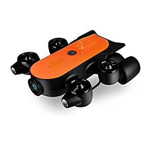 150M Tether Titan Professional Underwater Drone ROV AUV Robot with 4K UHD Action Camera Remote Control Real-time…