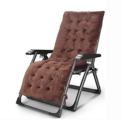 Cajolg Garden Chair Beach Chair Balcony Office Relaxing Chair Breathable Fabric Sun Lounger Folding Recliner Garden Furniture The Best Gift for Parents,B