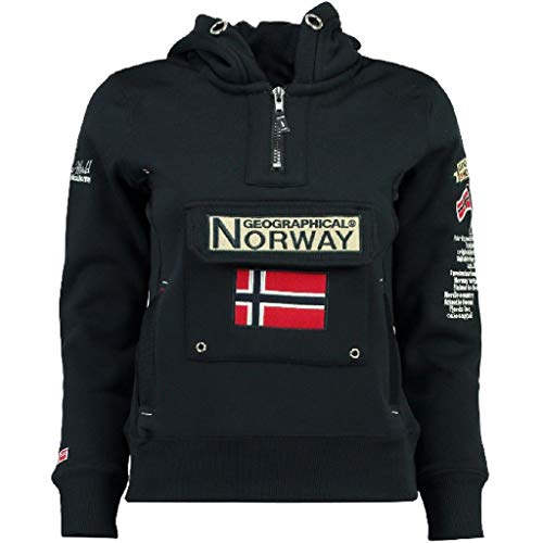 Geographical Norway - Felpa da donna Gymclass A Bleu Marine Medium