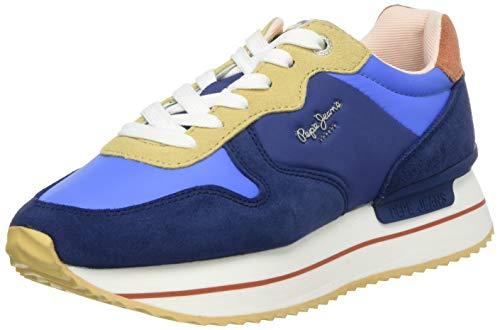 Pepe Jeans RUSPER Young, Zapatillas para Mujer, Azul Sailor 580, 36 EU