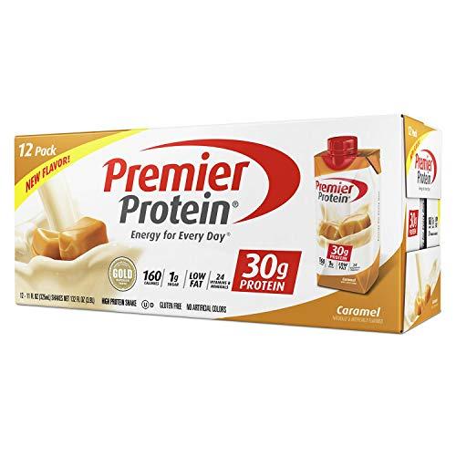 Premier Protein High Protein Shake Caramel 11 Fl Oz 12 Pack Of 2 132 Oz