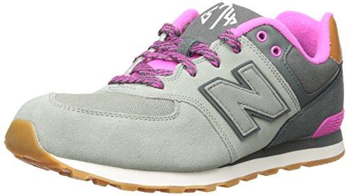 New Balance New Balance KL574 Jungen und Mädchen Sneakers Grau/Pink, EU 39