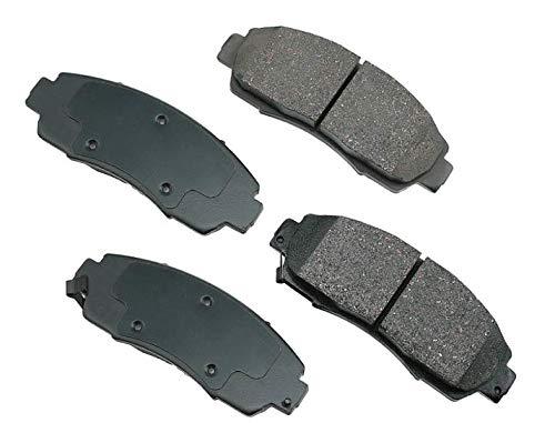Premium Ceramic Brake Pads (D1089-7994) - (FRONT) by Royal Brakes Canada