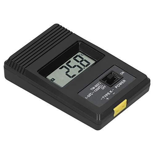 Medidor de temperatura TM902C, medidor de temperatura digital con pantalla, pantalla LCD Diseño simple y preciso Fácil de operar para cerámica