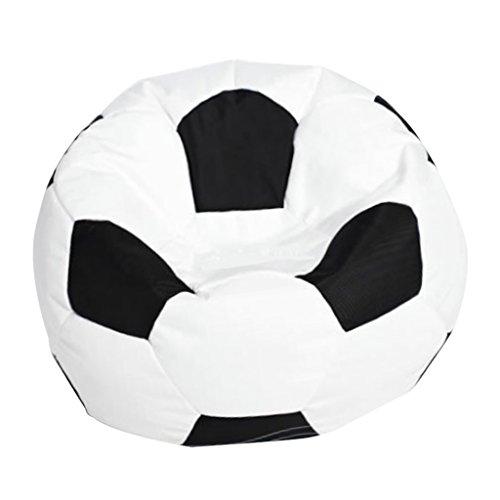 D DOLITY Cubierta Bolsa Frijoles Fútbol Haba Oxford