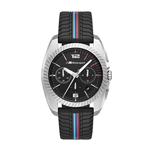BMW Herren analog Quarz Uhr mit Silikon Armband BMW2000