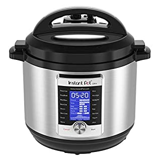 Instant Pot Ultra 10-in-1 Electric Pressure Cooker, Slow Cooker, Rice Cooker, Steamer, Saute, Yogurt Maker, Cake Maker, Egg Cooker, Sterilizer, and Warmer, 8 Quart, 16 One-Touch Programs (B07588SJHN) | Amazon price tracker / tracking, Amazon price history charts, Amazon price watches, Amazon price drop alerts