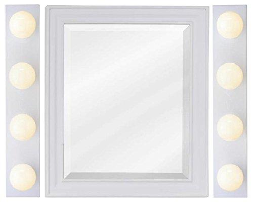 Westinghouse 6659500 4-Light Interior Bath Bar, White Finish - Pack of 2