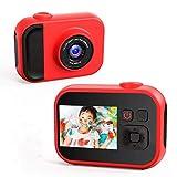 子供用カメラ,TONDOZEN子供用デジタルカメラ キッズカメラ 2400万画素 1080Pビデオカメラ mp3プレイヤー スビーカー内蔵 USB充電 誕生日プレゼント 日本語取扱説明書32GB SDカード付き