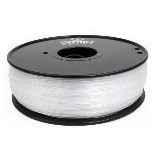 Gizmo Dorks 3mm (2.85mm) ABS Filament 1kg / 2.2lb for 3D Printers, Transparent