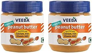 Veeba Peanut Butter Crunchy, 340g - Pack of 2
