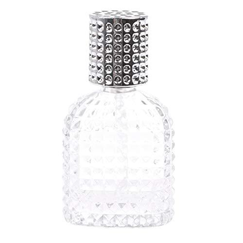 Homeofying Bouteille de parfum en verre d'ananas 30 ml vaporisateur vide atomiseur rechargeable 30 ml