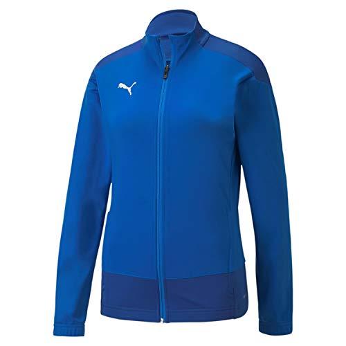PUMA Teamgoal 23 Training Jacket W Chaqueta De Entrenamiento, Mujer, Electric Blue Lemonade / Team Power Blue, S