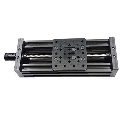 Cnc Deslizante Tabla 200mm 4080u Tornillo T8 Carril Guía Z Eje Lineal De La Etapa De Activación Para La Impresora 3d De Bricolaje X Y Z Eje Piezas Industriales Suministros