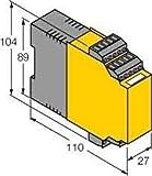 Turck Drehzahlwächter IM21-14EX-CDTRI 1-kanalig Frequenzmessumformer 4047101116427