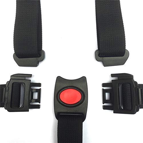 Fitzulam imbracatura universale a 5 punti con cinghia regolabile per passeggino, seggiolone, carrozzina, passeggino per bambini